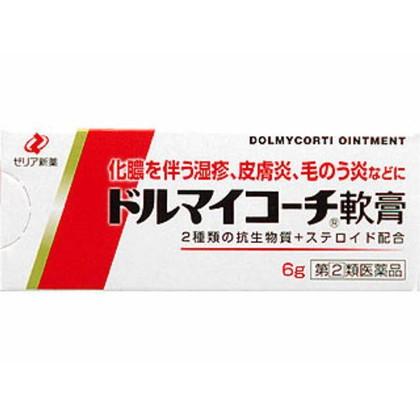 ドルマイコーチ軟膏 6g[指定第2類医薬品]