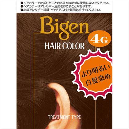 ビゲン ヘアカラー 4G 自然な栗色 1個