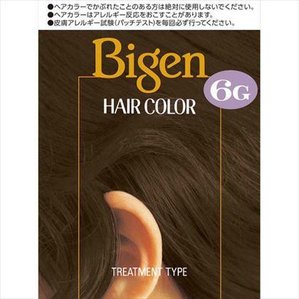 ビゲン ヘアカラー 6G 自然な褐色 1個