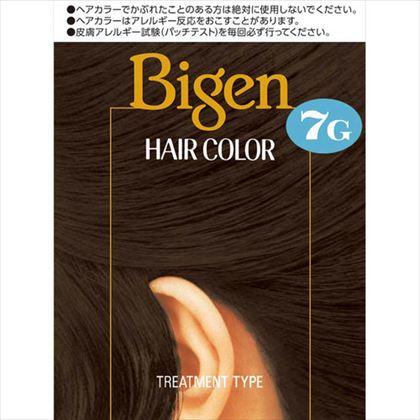 ビゲン ヘアカラー 7G 自然な黒褐色 1個