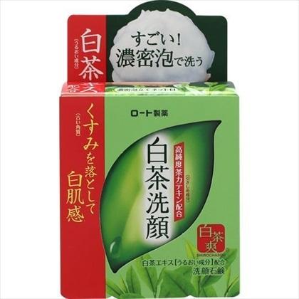 白茶爽 白茶洗顔石鹸 85g