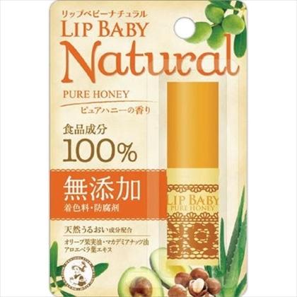 メンソレータム リップベビーナチュラル ピュアハニーの香り 4g