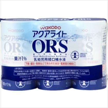 アクアライトORS【乳児用イオン飲料】125ml×3P