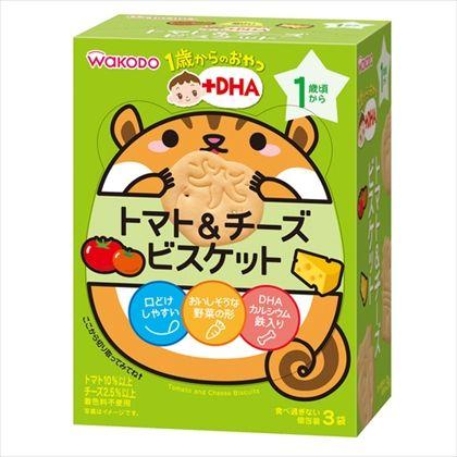 和光堂 1歳からのおやつ トマト&チーズビスケット 11.5g×3袋