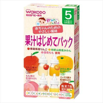 和光堂 飲みたいぶんだけ 果汁はじめてパック 5g×7包入