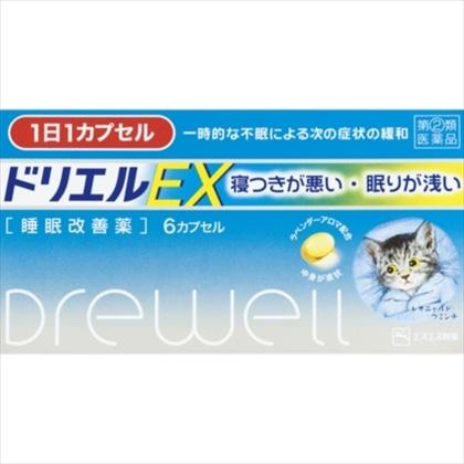 ドリエルEX 6カプセル[指定第2類医薬品]