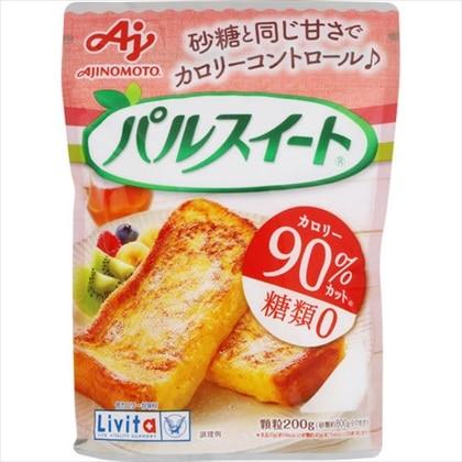 低カロリー甘味料 パルスイート 顆粒 袋入 200g