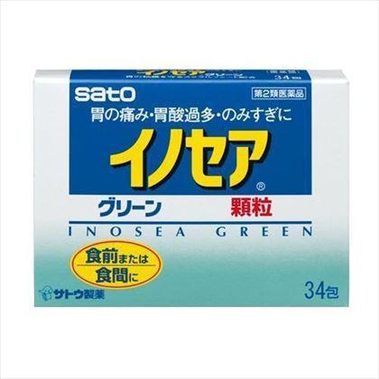 イノセアグリーン 34包[第2類医薬品]