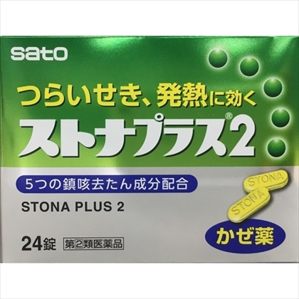 ストナプラス2 24錠 [指定第2類医薬品]