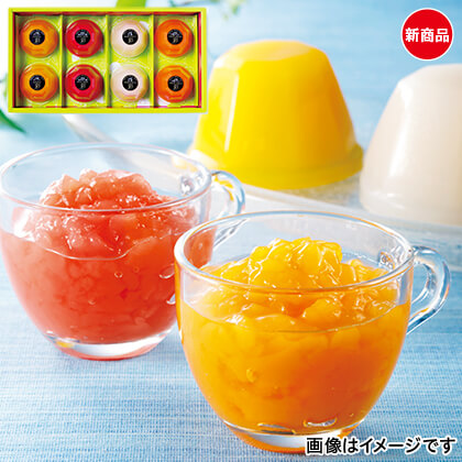 日本のおいしいゼリー彩