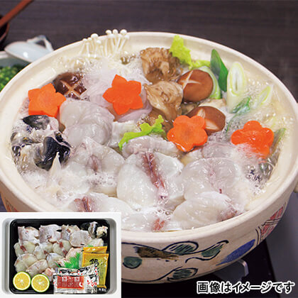 山口県とらふくちり鍋セット