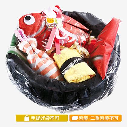 おむつdeお鮨お祝い鮨(鯛入り)