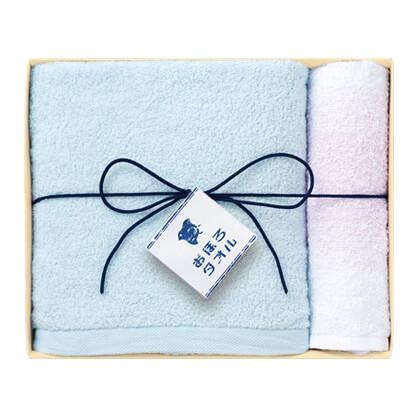 日本の極み おぼろタオルA ブルー