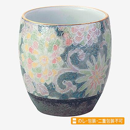風舞花 茶湯器 有田焼 色唐草