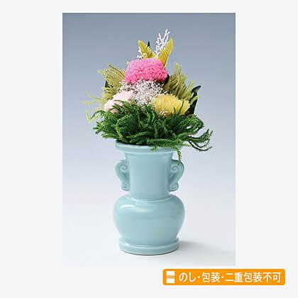 プリザーブドフラワー花瓶付