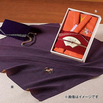 彩美きもの姿 ふろしき・ふくさセット 紫