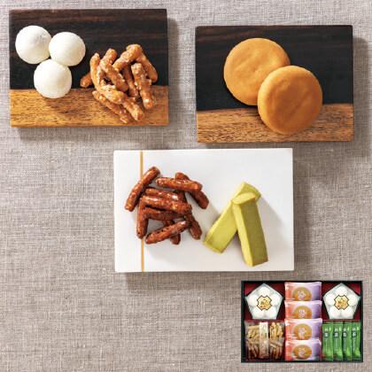 和菓撰 和菓子詰合せB 写真入りメッセージカード(有料)込