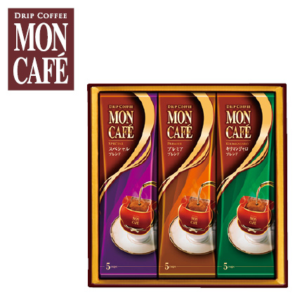 モンカフェ ドリップコーヒーA 写真入りメッセージカード(有料)込