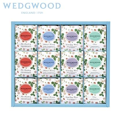 ウェッジウッド ワイルド ストロベリー ティーバッグB 写真入りメッセージカード(有料)込