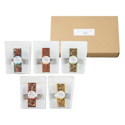 Reef オリジナルハーブティー おうちで楽しむお茶たいむセット 写真入りメッセージカード(有料)込