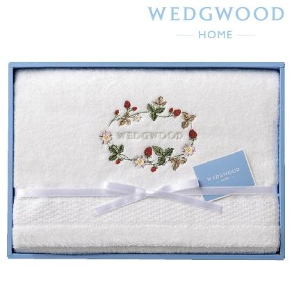 ウェッジウッド バスタオル 写真入りメッセージカード(有料)込