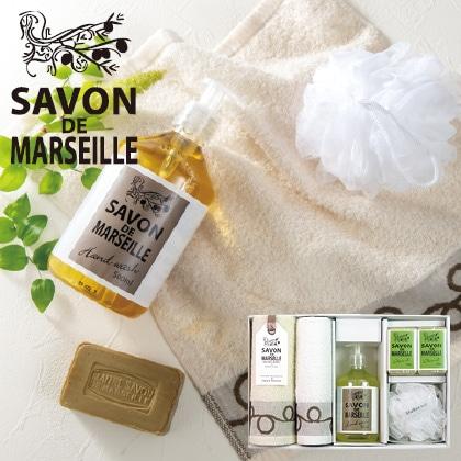 サボンドマルセイユ 石鹸タオルセットC