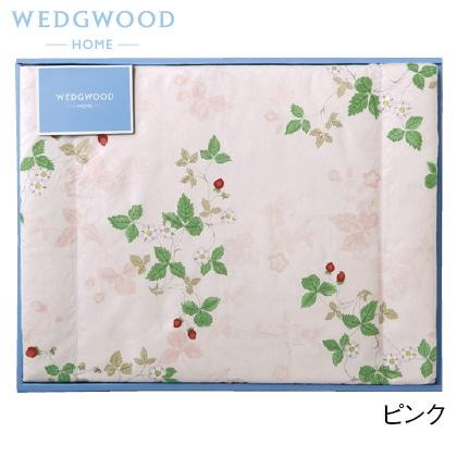 ウェッジウッド 羽毛肌掛けふとん ピンク 写真入りメッセージカード(有料)込