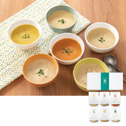 マーゼル・マーゼル スープスムージー6種セット