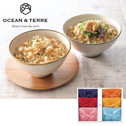オーシャン&テールTSUTSUMI 炊き込みご飯の素セット  写真入りメッセージカード(有料)込