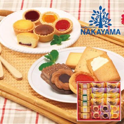 中山製菓 ガトーセックA  写真入りメッセージカード(有料)込