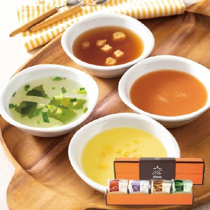 64℃ スープギフトA  写真入りメッセージカード(有料)込