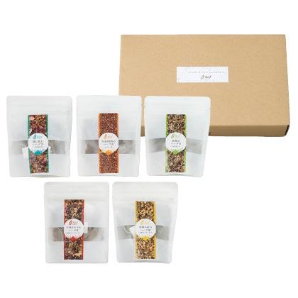 Reef オリジナルハーブティーおうちで楽しむお茶たいむセット  写真入りメッセージカード(有料)込