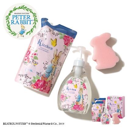 ヤシノミ洗剤 ピーターラビットA  写真入りメッセージカード(有料)込