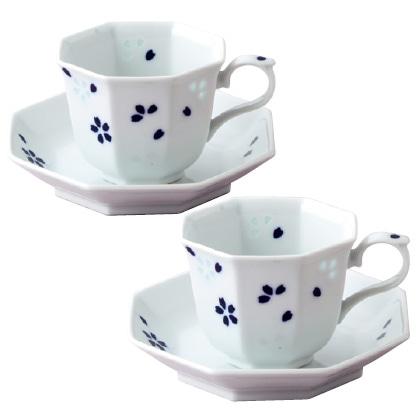 有田焼 ペアコーヒー碗皿