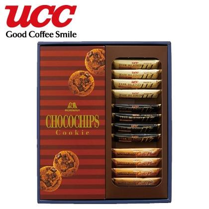 UCC スティックコーヒー&森永 チョコチップクッキーセットA