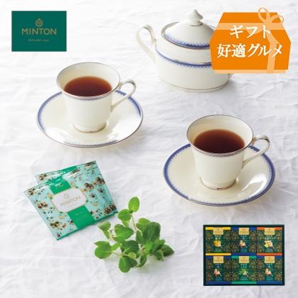 [ミントン] 和紅茶セット
