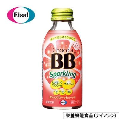 チョコラBBスパークリンググレープフルーツ&ピーチ味(48本)