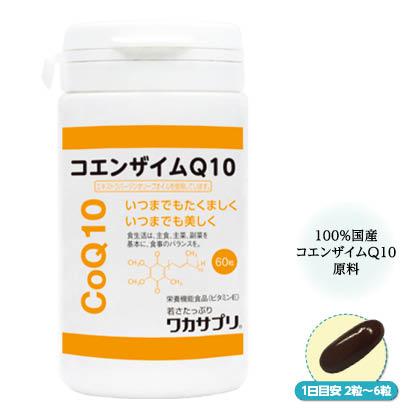 〈ワカサプリ〉コエンザイムQ10 60粒