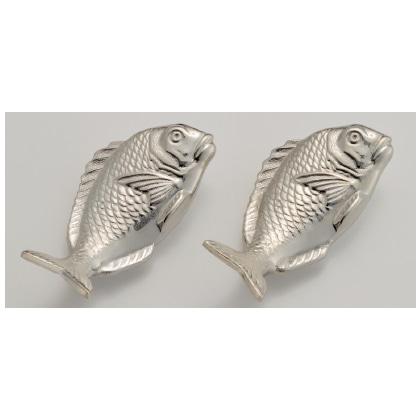 銀製 箸置き 鯛2個セット