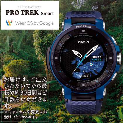 〈CASIO〉PROTREK Smart