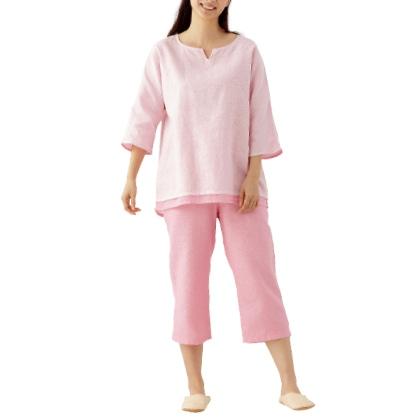 和晒2枚重ねガーゼパジャマ(婦人用/L)