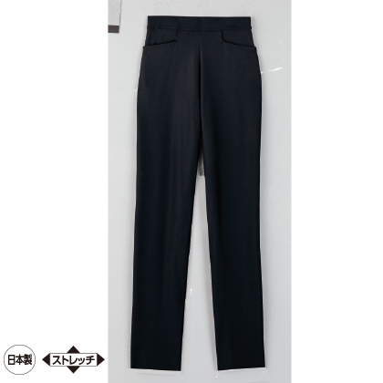 美・スタイル 九分丈パンツ(ブラック/LL/股下62cm)