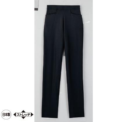 美・スタイル 九分丈パンツ(ブラック/LL/股下67cm)