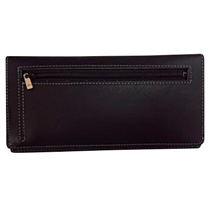 カードをたくさん入れても薄い財布(長財布)(ブラック)