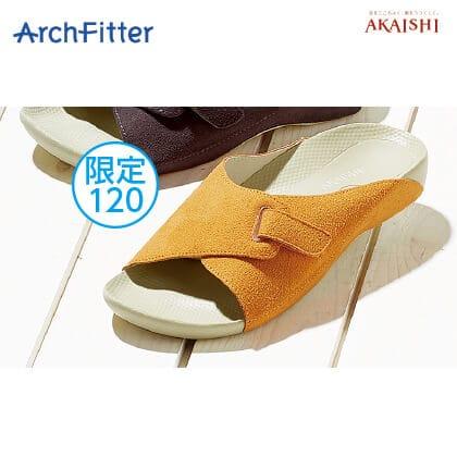 アーチフィッター603 室内履き(アプリコット/M)
