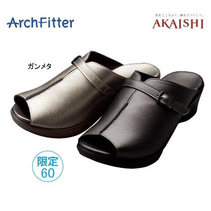 アーチフィッター136 ミュール(ガンメタ/M)