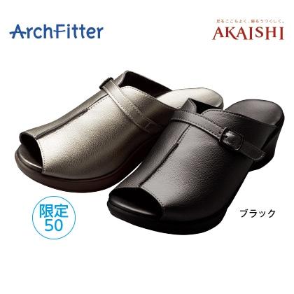 アーチフィッター136 ミュール(ブラック/S)