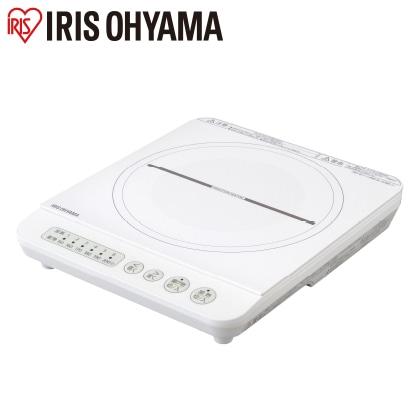 〈アイリスオーヤマ〉IHコンロ 1400W(ホワイト)