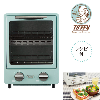 〈Toffy〉オーブントースター/K−TS1(ペールアクア)