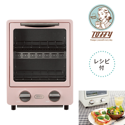 〈Toffy〉オーブントースター/K−TS1(シェルピンク)
